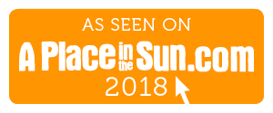 As seen on A Place in the Sun 2018