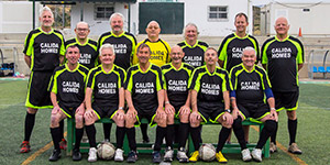 Calida Homes Sponsers FC Los Amigos -The Premier walking football club in Almería