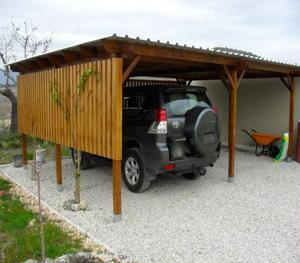 Car Port - handy in the Summer