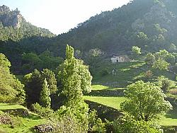 A Spanish Valley in the Spring