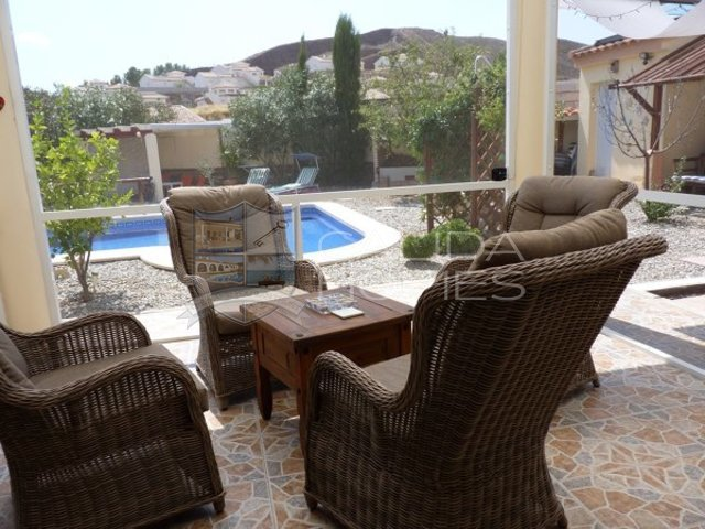 cla7316 Villa Peony : Resale Villa for Sale in Arboleas, Almería