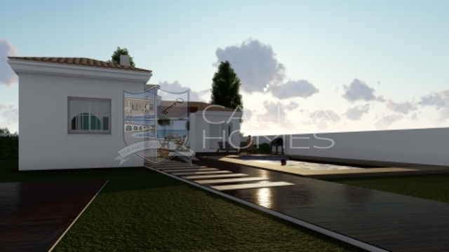 cla7338: Off Plan Villa for Sale in Arboleas, Almería