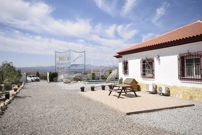 cla7346 Villa Tranquillity: Resale Villa in Albox, Almería