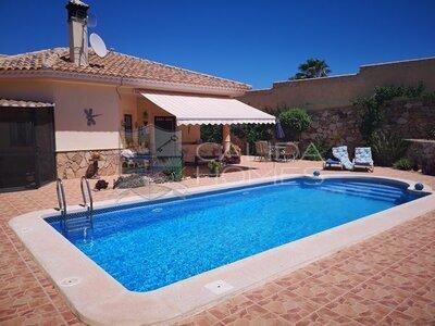 cla7392 Villa Feliz : Resale Villa in Arboleas, Almería