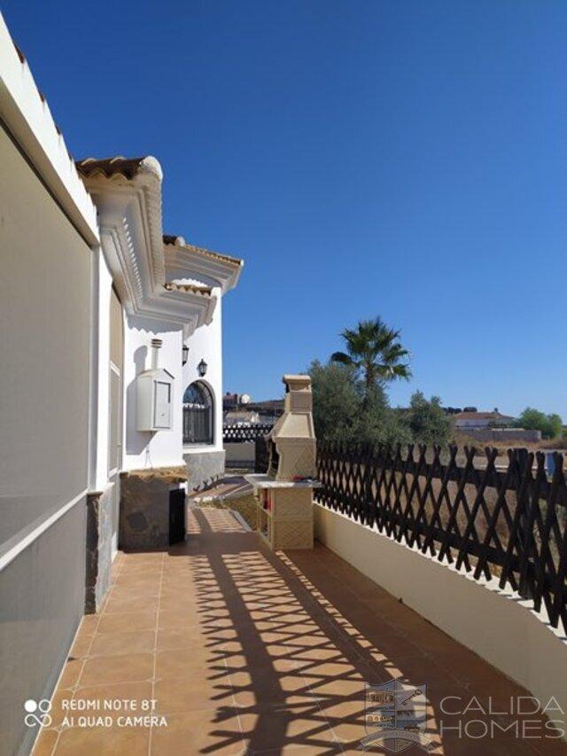 cla7454 Villa Enchantment : Resale Villa for Sale in Partaloa, Almería